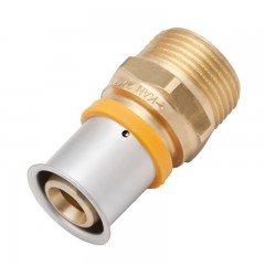 Vsh Multipress k7020 rechte koppeling 20x3/4
