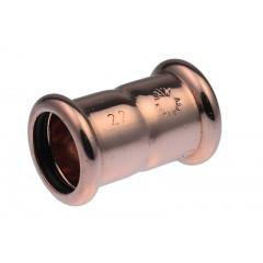 Vsh Xpress rechte koppeling 22x22mm pers k3056 koper 4800037