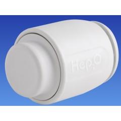 Wavin Hep2O eindstop 15mm wit 4445115000