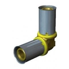 Wavin Tigris gas knie 90gradenaden 25mm 4371225009