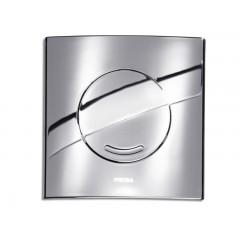Wisa Argos bedieningsplaat kunststof mechanisch 16x16cm met spoelonderbreking voor XS WC-element glanschroom 8050414551