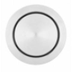 Wisa Solo bedieningsplaat steel pneumatisch Ø 6.6cm zonder hefboom voor XS WC-element RVS 8050404232