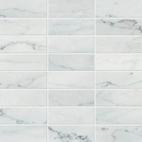 Atlas concorde style bianco venato moza ek 30x30 ad06 - Badkamer tegelmat wit ...