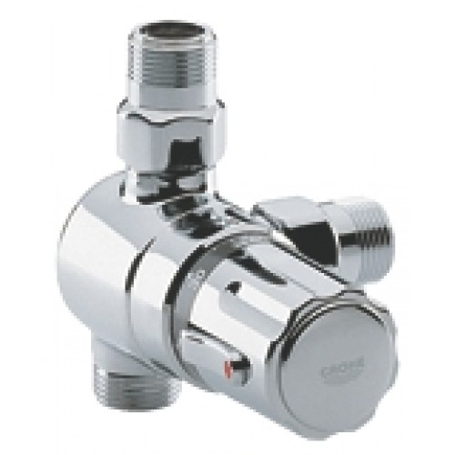Grohe automatic 2000 centraal thermostaat zonder for Thermostaat voor grohe kraan