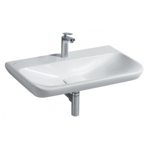 Keramag myday wastafel 80x48 wit 125480000 - Wastafel rechthoekig badkamer ...