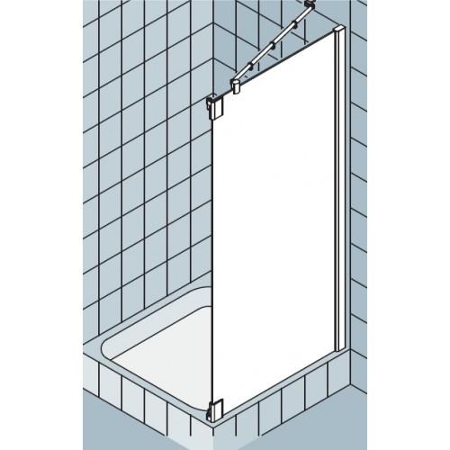 kermi pasa xp zijwand voor draaideur met vast segment f 90x200cm rechts met kermiclean. Black Bedroom Furniture Sets. Home Design Ideas