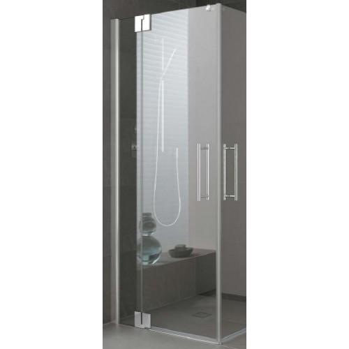 kermi pasa xp pendeldeur met vast segment voor hoekinstap per deel 120x200cm links met. Black Bedroom Furniture Sets. Home Design Ideas