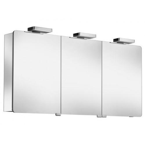 keuco elegance spiegelkast 1200x670x169mm zilver gebeitst. Black Bedroom Furniture Sets. Home Design Ideas