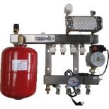 Henco 2 groeps regelunit vloerverwarming UFH-0405-SRWE2