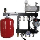 Henco 2 groeps regelunit vloerverwarming UFH-0405-SWE2