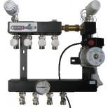 Henco 3 groeps regelunit vloerverwarming UFH-0405-ST3