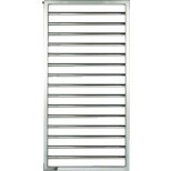 Zehnder Subway designradiator 154,9x45 445watt rvs, mat SUBI-150-045