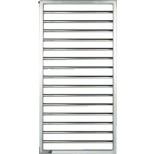 Zehnder Subway designradiator 183,7x45 523watt rvs, mat SUBI-180-045