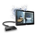 "Aquasound badkamer tv 27"" 69cm met teletekst zwart ASV2769B"
