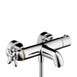 Axor Carlton opbouw badthermostaat chroom-goud 17241090