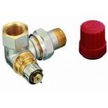 "Danfoss thermostatische radiatorafsluiter dubbel haaks LI 3/8"" Kvs = 0,65 m3/h RA-N10 013G0232"