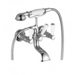 Dornbracht Madison-Flair badkraan met omstel met garnituur zonder hendel met koppelingen chroom 2502337000
