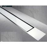 Easy Drain Modulo TAF designrooster Z2 gepolijst 100cm glas wit MTAFDZ2PGW1000