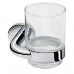 Geesa Nemox NautiQ glashouder met glas chroom 657202