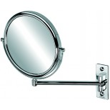 Geesa Mirror scheerspiegel 1-armig 3x vergrotend Ø 20cm chroom 1085