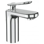 Grohe Veris 1-gats wastafelkraan medium met waste chroom 23064000