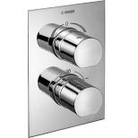 Hansa inbouw + afbouwdeel voor badkraan thermostatisch met omstel chroom 08070101