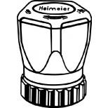 Heimeier handregelknop voor thermostaatkraan M30x1.5 200100325