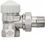 """Heimeier V-Exact radiatorafsluiter 1/2"""" haaks vernikkeld 371102000"""