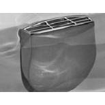 Hoesch Combi-Vario afvoer- / overloopcombinatie 90mm chroom 690949305