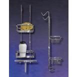 Hüppe 2000 Butler zeephouders met handwisser voor douchewanden chroom 492001091