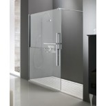 Huppe Duplo Walk-In 4-H inloopdouche 1385-1400x2000mm chroom /combidecor