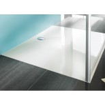 Hüppe EasyStep kunststof douchebak acryl rechthoekig 100x80x3cm wit 215012055