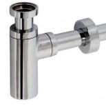 IB design sifon chroom incl muurbuis en rozet 21040130