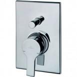 Ideal Standard Active afbouwdeel voor inbouw badkraan met omstel chroom B8073AA