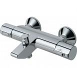 Ideal Standard Active badkraan thermostatisch met koppelingen met omstel chroom A4050AA