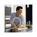 Ideal Standard Celia keukenmengkraan chroom A3445AA