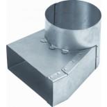 Itho flensbus flb125-100 aluminium 55318665