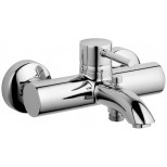 Kludi Bozz badkraan met omstel en koppelingen chroom 386910576