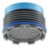Neoperl Cache Cascade perlator 18,5mm buiten 2 stuks met sleutel kunststof 1515548