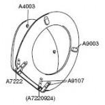 Pressalit closetbuffer A9003