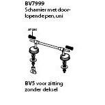 Pressalit Privilege uni scharnier rvs BV7999
