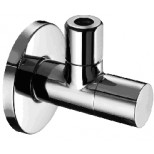 """IB design hoekstopkraan 1/2""""x10mm met verborgen bediening chroom 18293384"""