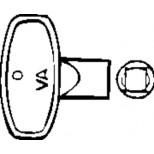Sphinx Universeel sleutel voor vorstvrije gevelkraan kunststof S8DSP200
