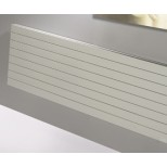 Thermic Havaro HP1L1V decorradiator H360xL500mm 322W RAL9016 wit venti