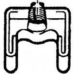 Venlo klemdeel tbv venlo-vix systeem