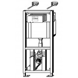 Viega Eco Plus WC-element 113cm met inbouwreservoir 3-6-9 liter spoeling 622190