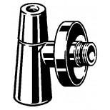 Viega Eeleganta 2 hoekstopkr. chroom 1/2x10mm 575687
