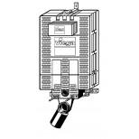 Viega Visign 2H Mono-WC-voorwandblok 606732