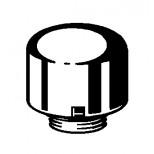 Viega beluchter voor muurbuis chroom 116248