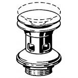 """Viega Visign visign V1 schachtplug met overloop met kliksluiting 5/4""""x63x75mm 492601"""
